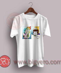 Girl Pointing At Cat T-Shirt