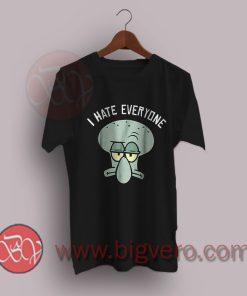 Squidward-I-Hate-Everyone-T-Shirt