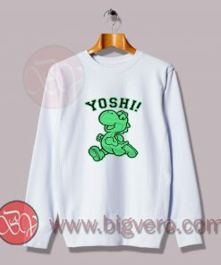 Yoshi Classic Game Sweatshirt