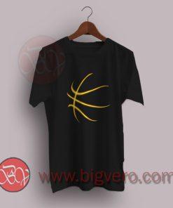 Neon Orange Style Basket Ball T-Shirt