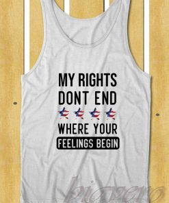 My Rights Dont End Tank Top