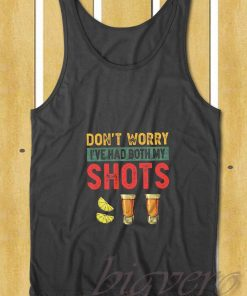 My Shots Tequila Vintage Tank Top