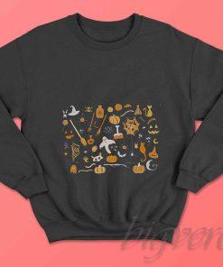 Spoonie Halloween Sweatshirt